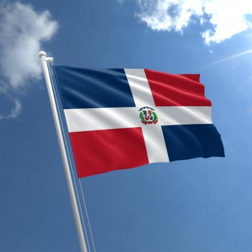 Fly Breeze Dominican Republic Flag 3x5 Foot photo review