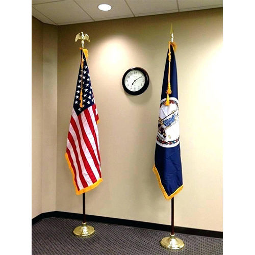 Indoor Flag Pole Stand(For Flagpole 1.3-inch, 1.1-inch, 0.9-inch) photo review