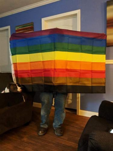 Fly Breeze Rainbow Gay Pride Flag photo review