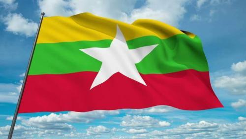 Fly Breeze Myanmar Flag 3x5 Foot photo review